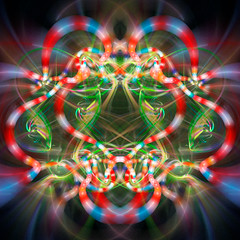 Coral Snakes (Luc H.) Tags: coral snake graphic graphism fractal abstract digital