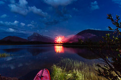 IMG_0744 (mondoguitar) Tags: vermillionlakes canada150 fireworks banff alberta