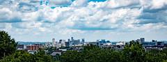 Love circle to Nashvegas (C.M. Hovinga) Tags: nashville lovecircle skyline city midwest summer hot batmanbuilding att landscape color clouds wideangle tamron nikon
