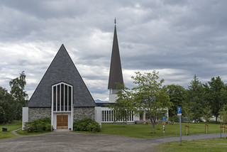Harstad kirke / Harstad church, Norway