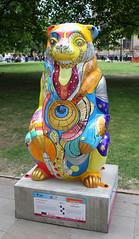 Life Ta'bear'stry (ahisgett) Tags: birmingham children's hospital charity wild art big sleuth 2017 bearmingham