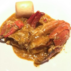 Chili-Crab @ Edge, Pan Pacific Hotel (Lester Ong) Tags: buffet edge theatre pan pacific lunch meal dinner eat hungry hotel restaurant sugar ketchup starch egg asia singapore chili crab food