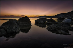 sicilian´s sunset_2 (bit ramone) Tags: sunset atardecer sicilia sicily italy italia sea mar beach mediterráneo sol sun sky rocks rocas agua water bitramone