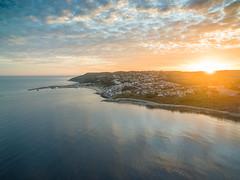 Dji Phanton 3 Drone - Lyme Regis (myfrozenlife) Tags: drone england dorest beach djipahntom3advanced uav aerialphotos djiphantom multicopter seaside flight sea lymeregis unitedkingdom gb