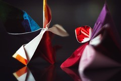 "Macro monday ""relaxing"" (bertrandpoux) Tags: macromonday macro hmm origami flower butterfly relaxing"
