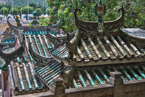 A-Ma Temple Roof
