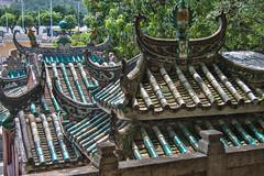 A-Ma Temple Roof (andryn2006) Tags: amatemple barrasquare macau temple tiles roof zhuhaishi guangdongsheng china