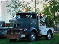 Jeepers Creepers (novice09) Tags: truckthursday htt backtothefifties carshow gmc cabover towtruck wrecker ipiccy