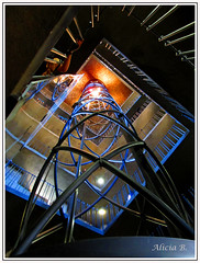 Ascensor hacia el cielo - #InspiracionBdF18 (Alicia B,) Tags: praga repúblicacheca ascensor torre del reloj prague czech republic