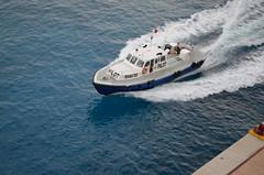 Liberty of the Seas (Jeffrey Neihart) Tags: jeffreyneihart nikon nikkor nikond5100 nikon1855mm ship caribbean royalcaribbean libertyoftheseas pilot boat manatee
