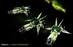 Nebula class Heavy Starfighter (Brick Martil) Tags: toy lego ship shiptember starfighter nebula ucs spaceship space