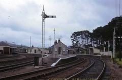 ANd View west of Craigellachie Station 22081965 JMboyesARPT (Ernies Railway Archive) Tags: gnsr lner scotrail craigellachiestation speysidebranch
