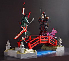 The New Shogunate (Pate-keetongu) Tags: lego moc samurai japan shogun