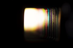 Squaulers (Mr Clicker / Davin) Tags: mrclicker davin colours squares dark light illuminated tunnel