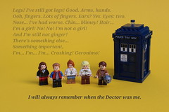 11th Doctor Figbarf (noggy85) Tags: lego moc dctorwho tardis 11thdoctor mattsmith rorywilliams arthurdarvill amypond karengillan riversong sonicscrewdriver schallschraubenzieher cyberman claraoswald jennycoleman alexkingston