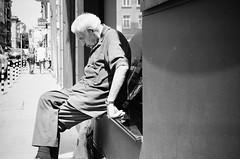 in deep thoughts (gato-gato-gato) Tags: 35mm bg bulgaria contax contaxt2 iso400 ilford ls600 noritsu noritsuls600 ostblock sofia strasse street streetphotographer streetphotography streettogs t2 analog analogphotography believeinfilm film filmisnotdead filmphotography flickr gatogatogato gatogatogatoch homedeveloped pointandshoot streetphoto streetpic tobiasgaulkech travel wwwgatogatogatoch sofiacity bulgarien black white schwarz weiss bw blanco negro monochrom monochrome blanc noir strase onthestreets mensch person human pedestrian fussgänger fusgänger passant autofocus софия българия urlaub ferien reise adventure