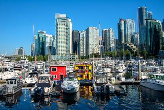 Coal Harbour Marina, Vancouver, BC