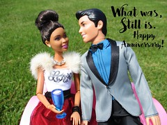 To my loving husband (flores272) Tags: nikki princecharming doll dolls toy toys barbiedoll aabarbie nikkidoll outdoors anniversary kendoll dollclothing barbieclothing