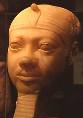 Fragmentary statue head of Shepseskaf (Historystack) Tags: ancientegypt historyofegypt bronzeage government oldkingdomofegypt earth africa 26thcenturybc solarsystem egyptianpharaohs fourthdynastyofegypt shepseskaf listofegyptianpharaohs milkyway