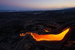 Lava River (Raiatea Arcuri) Tags: lava river flow volcano kilauea hawaii bigisland pulamapali volcanoesnationalpark