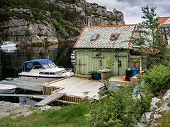 """The old boat house"" (Terje Helberg Photography) Tags: haganes boat boathouse coast coastal coastalenvironement dock maritim mooring rope ropes sea seascape shed water"