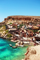 Popeye village (places to see, places to be) Tags: malta valletta travel gozo blue lagoon grotto explore