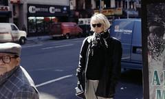 New York Street #01 (My Best Images) Tags: street newyork sunglasses blackleather scarf