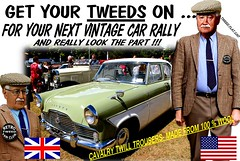 Get Yours Tweeds On Vintage Cars Etc 6 (Tweed Jacket + Cavalry Twill Trousers = Perfect) Tags: tweedjacket cavalrytwilltrousers tweed harris coat fsahion retro oldschool car cars auto autos vehicle nz newzealand whangarei auckland tauranga rotorua gisborne hasting napier wellington christchurch dunedin invercargill wanganui hamilton gents oldcars vintagecars show rally vintagecarclub veteran older clothing clothes 1970s 1960s 1980s 70s 80s 60s wearingtweed mk2 ford zephyr british text words outdoor canon tweedcap plaid plaidjacket