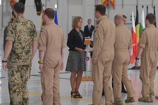 Visit of Federica Mogherini, Vice-President of the EC, to Spain, June 2017