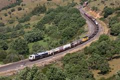 Iberian Link Vilar Formoso-Abroñigal pasando por La Cañada (ordunte) Tags: vossloh vossloh3333 prima teco renfe mercante mercancías freight líneamadridirún lacañada avila iberianlink