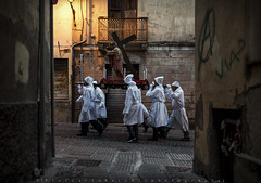 Holy Week in Sardinia (piercarlobacchiphotography) Tags: religion reportage holyweek sardinia iglesias mysteries streetphotography easter sigma35mmf14dghsmart tradition nikond750 people