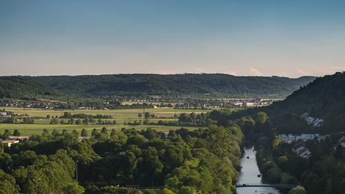 afternoon over the Neckar