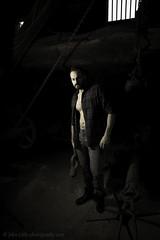 Steven Bristow 2 (johnhontai) Tags: muscularman beardedman beardedmodel workingman standingpose pose wortleyforge oldforge boots jeans openshirt hunk malemodel male d750 nikon johnlittlephotography kempophotography