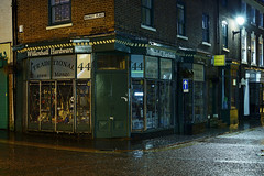 Willenhall Hardware, Market Place, Willenhall 16/04/2017 (Gary S. Crutchley) Tags: willenhall uk great britain england united kingdom urban town townscape walsall walsallflickr walsallweb black country blackcountry staffordshire staffs west midlands westmidlands nikon d800 history heritage local night shot nightshot nightphoto nightphotograph image nightimage nightscape time after dark long exposure evening travel street slow shutter raw