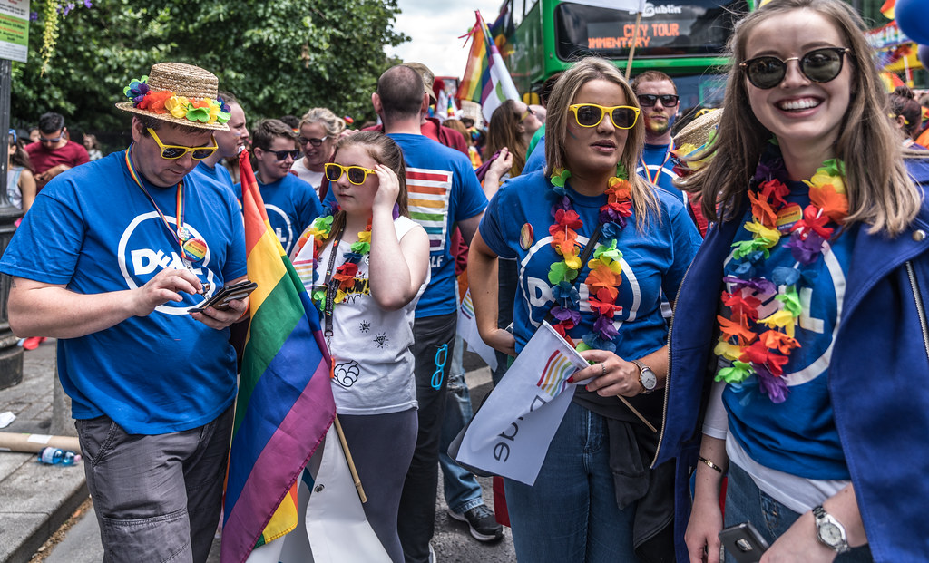 LGBTQ+ PRIDE PARADE 2017 [STEPHENS GREEN BEFORE THE ACTUAL PARADE]-129912