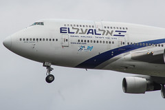 4X-ELC Boeing 747-400 El Al (markyharky) Tags: 4xelc boeing 747400 el al boeing747400 elal heathrow airport heathrowairport egll lhr londonheathrow aircraft aviation avgeek