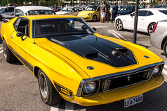 Yellow Mustang2 (Rod.T28) Tags: carshow canon1dsmarkiii canon24105mmisl cars mustang vintagecars americanmusclecars