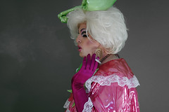 pink10 (queerina) Tags: dragqueen xdresser fag fairy flamer effeminate poofter poof frock sissy smoking smokingcrossdresser crossdressing mincing mincer limpwristed camp effeminacy