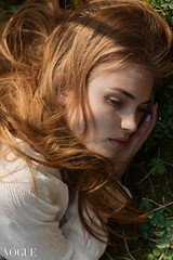 Iulia (MihailDolghintev) Tags: portrait hair green grass vogue photovogue italia light nikon d5200 85mm