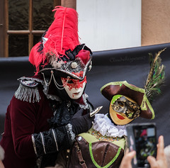 Carnival of Venice 2017 - Riquewhir, Alsace, France (5) (Cloudwhisperer67) Tags: canon fantastic carnival riquewihr alsace france 2017 parade 760d venetian masquerade ball masked mask venise venezzia venice italy cloudwhisperer67 fest great colors flashy incredible amazing photgraphy love lovely adorable red blue yellow orange robes robe costume costumes bal masqué divine comedy women girls girl woman splendid nigth light lights urban city cityscape magic magical moment poetry image photography fantasy bokeh travel trip color people carnaval art fun europe europa 760 vénitienne rêveries vénitiennes