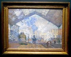 Claude Monet: Gare St-Lazare, 1877. (neppanen) Tags: sampen discounterintelligence paris pariisi ranska france museo museum musee art taide kuvataide painting maalaus maalaustaide muséed'orsay d'orsay orsay d´orsay claude monet garestlazare lazare juna asema station