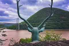 Stormy Day on the Hudson River (Rob Vigliotti) Tags: unitedstates bearmountain newyork hudsonriver bearmountainbridge