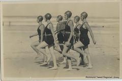 Yamba Ladies Surf Team c1950 (RTRL) Tags: byronbay surflifesaving surfclub surflifesavingcarnival