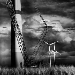 windradbaustelle (rael11ld) Tags: elements