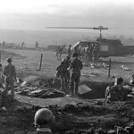 Vietnam War 1965 - Evacuation of American wounded soldiers from a camp in Plei Me thumbnail
