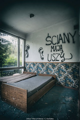 Abandoned recreation centre (October 9 / Urbex Tribe of Silesia) Tags: urbex urbexploration urbexdaily urban abandoned abandonedphotography abandonedplaces forgotten poland polska osrodek wczasowy opuszczone opuszczony zapomniany zniszczony zniszczone exploration