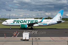 Frontier Airlines Airbus A320-251N - N305FR (AeroPX) Tags: aeropx airbusa320 airbusa320neo caryliao cliffthemountaingoat ewing frontierairlines kttn n305fr nj newjersey ttn trentonmercercountyairport