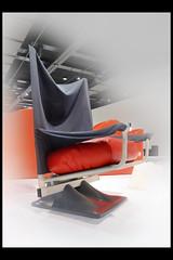 aeo easy chair 01 1973 archizoom (sm den bosch 2017) (Klaas5) Tags: holland netherlands ©picturebyklaasvermaas exhibition tentoonstelling stedelijkmuseumdenbosch niederlande paysbas nederland design vormgeving thelastavantgarderadicalitaliandesign furniture meubel italy italie industrialdesign 1970s1980sdesign chair stoel