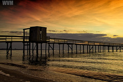 Trapiche do Laranjal (wagnerm25) Tags: trapiche twilight dock deck dusk down dark laranjal lake landscape light pelotas pier postcard