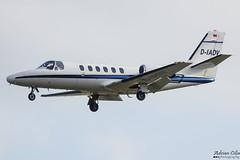 Private --- Cessna 551 Citation II --- D-IADV (Drinu C) Tags: adrianciliaphotography sony dsc rx10iii rx10 mk3 fra eddf plane aircraft aviation bizjet privatejet private cessna 551 citation ii diadv